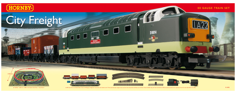 Hornby R1092 Train Set City Freight
