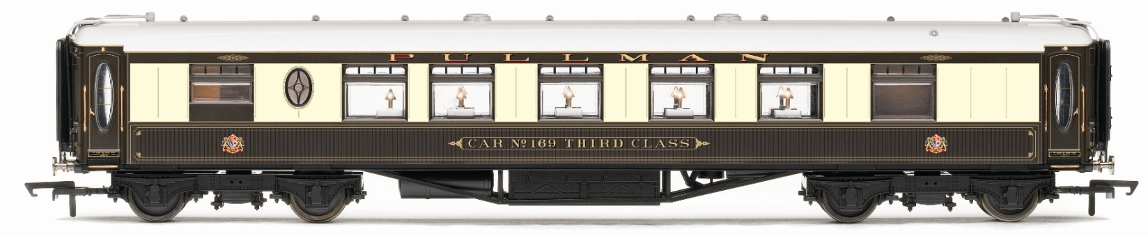 Hornby r4424 pullman 3rd class kitchen 8w wooden sided car no 169 - Pullman kitchen design ...