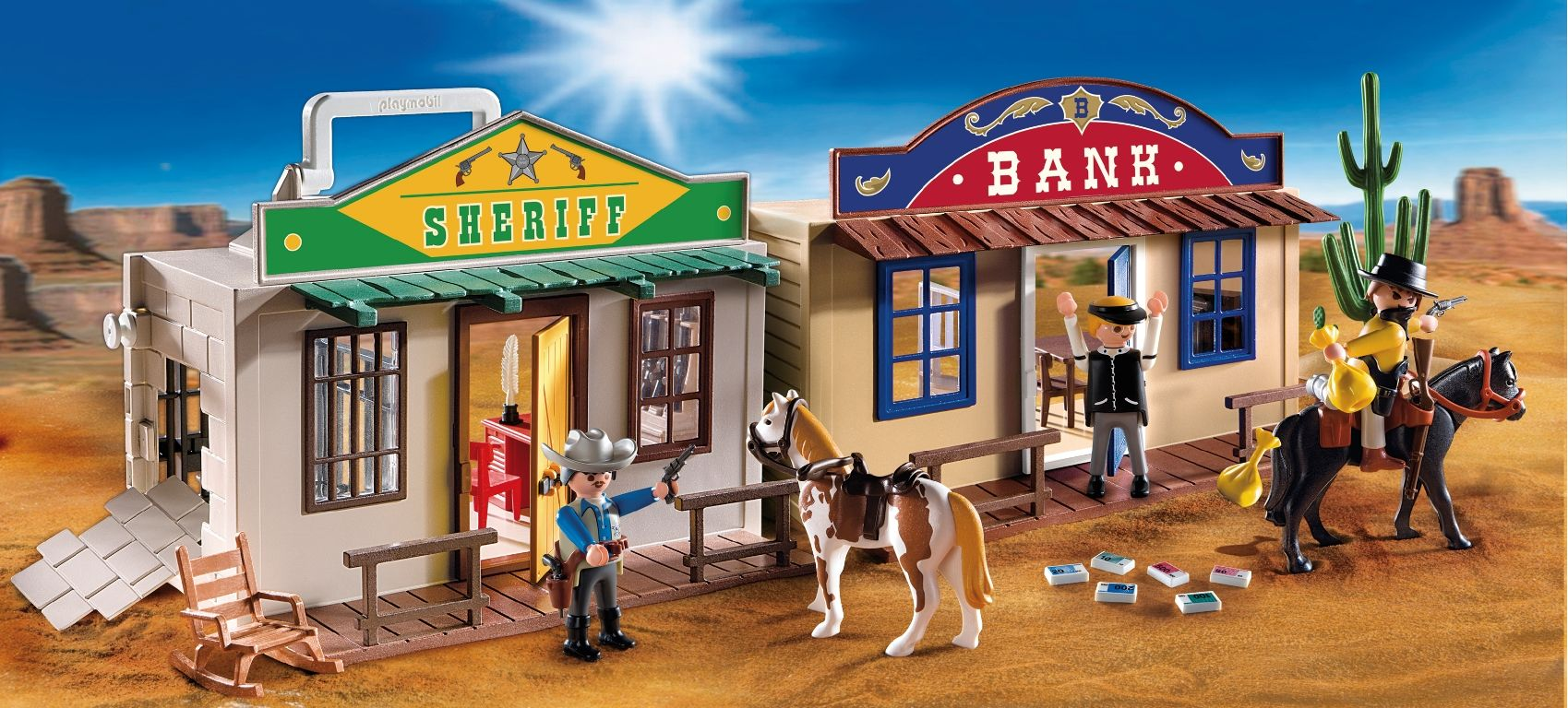 playmobil western online bestellen. Black Bedroom Furniture Sets. Home Design Ideas